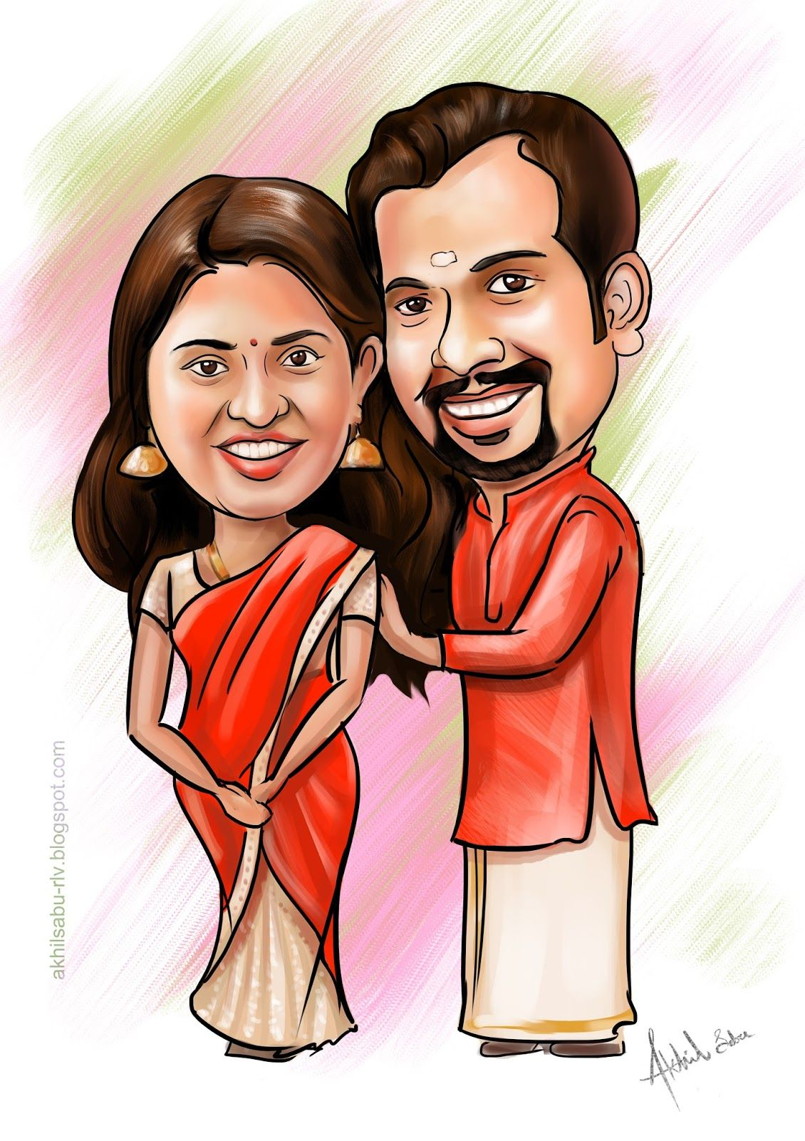 Wedding Caricatures Wedding caricature, Caricature