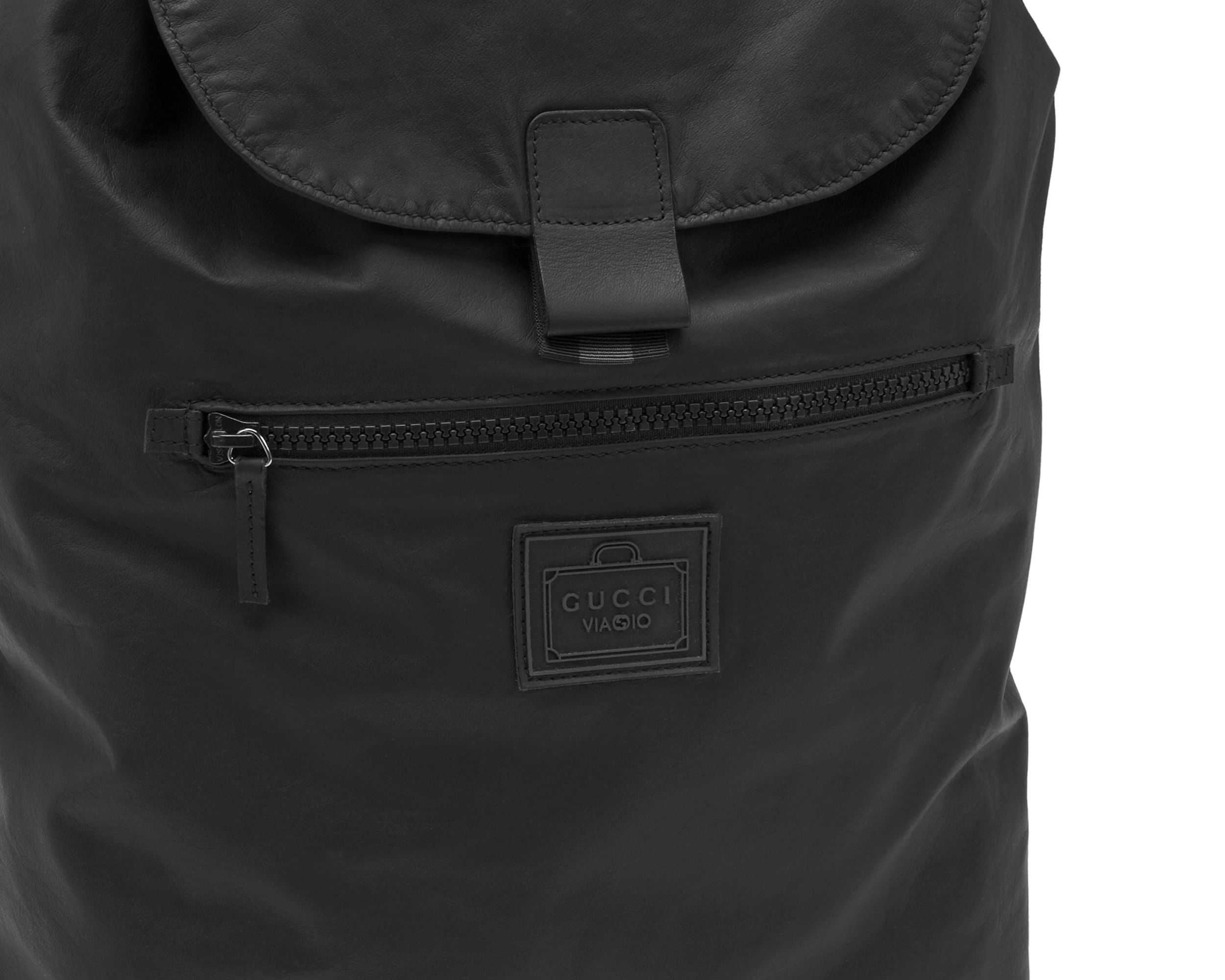 Gucci Viaggio Nylon Backpack  gucciviaggio The perfect backpack to keep all  my stuff and my hands free during my visits 91691226dc5ac