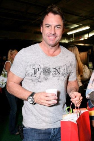 Mark Steines from Entertainment Tonight  The XLII Superbowl Charity Gift Lounge by Lunabrand 'The Retreat'