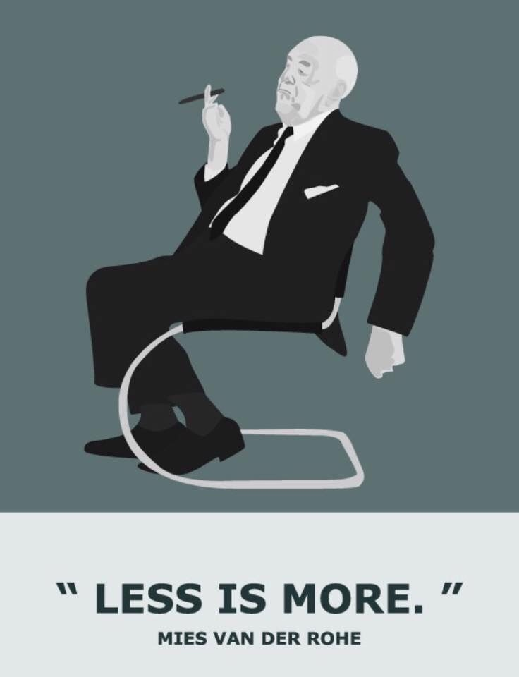 Ludwig Mies van der Rohe … Less is more www.bauhaus