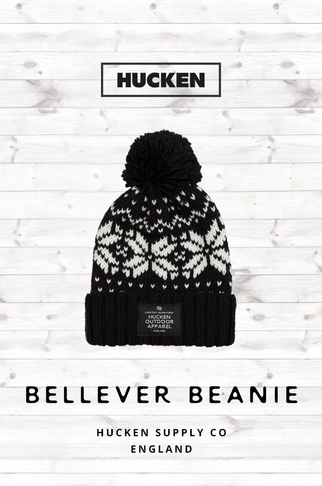 Retro style bobble beanie perfect for everyday wear. Features our branding  patch sewn onto the 451738c1cc9a