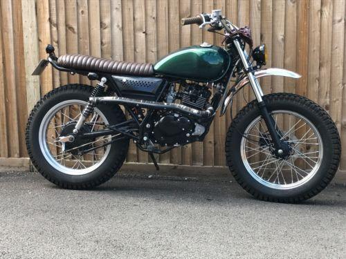 Custom Scrambler Road Legal 125cc Motorbike Cafe Racer Brat Style