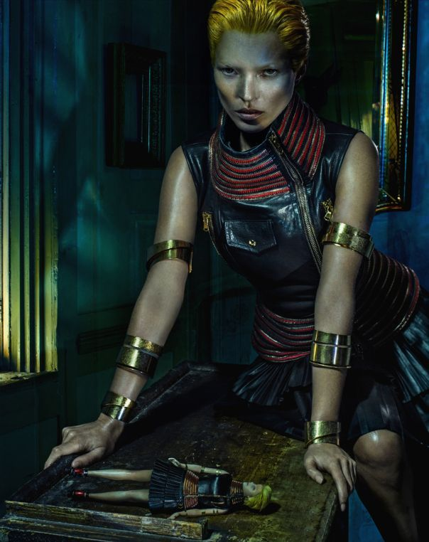 Kate Moss by Steven Klein for Alexander McQueen Spring Summer 2014 - r3rxb