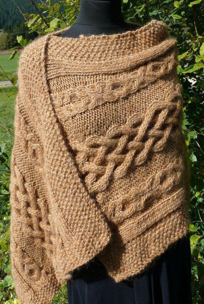 Photo of gestricktes gestohlenes Modell   – Tuto crochet et tricot – #Kapuzenschal #Stric…