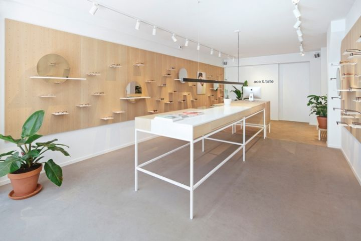 Ace Tate Eyewear Store By Occult Studio Amsterdam Netherlands Retail Design Blog