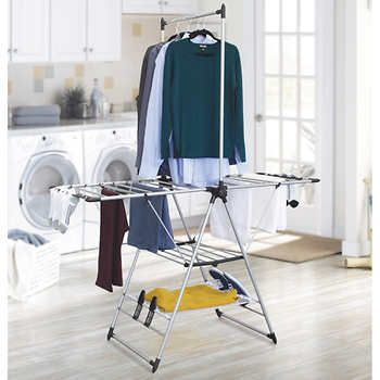 Clothes Drying Rack Costco Endearing Vanderbilt Home Gullwing Folding Drying Rack  House Items  Pinterest Design Decoration