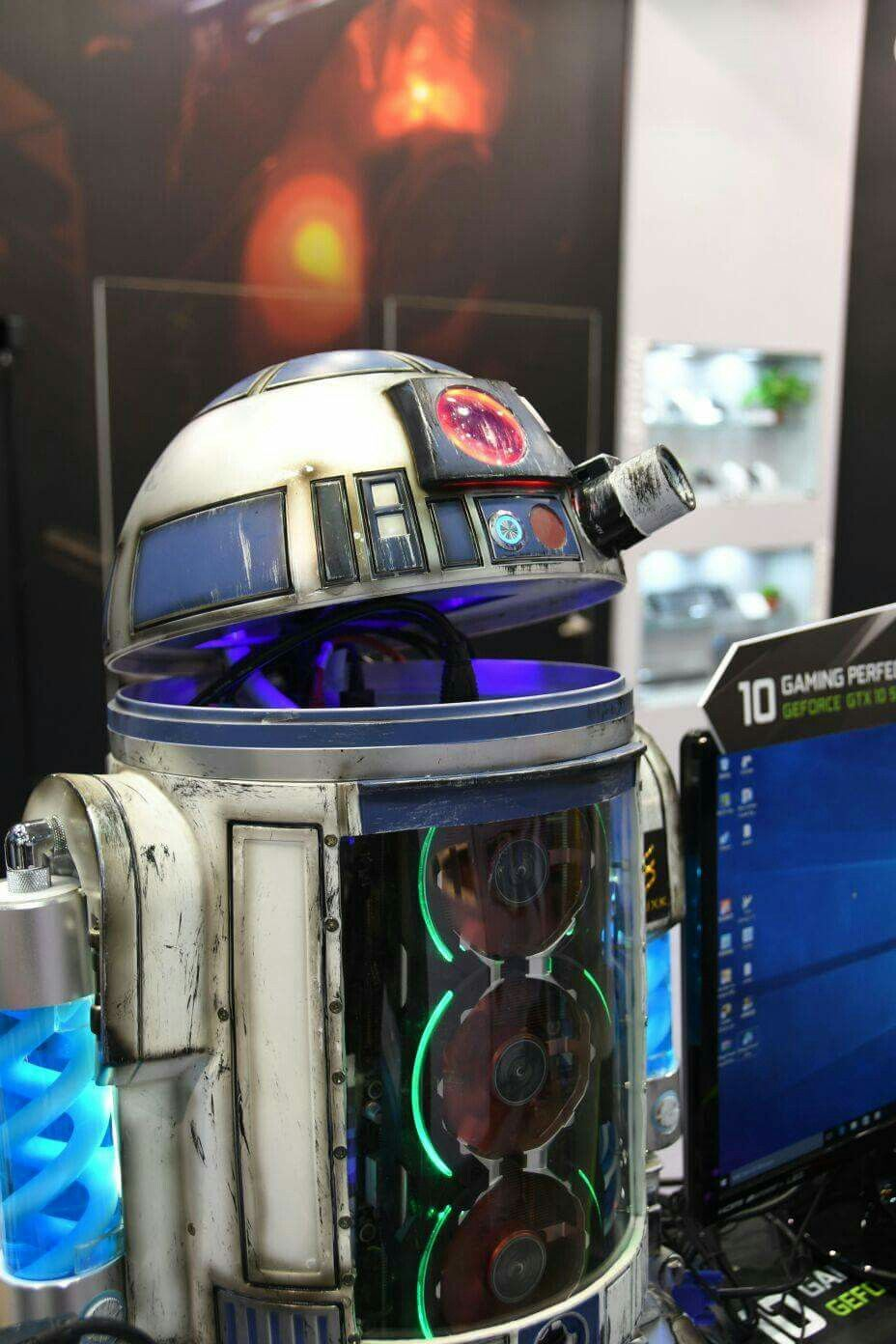 ROBOT THE PC  R2D2 STAR WARS  | Computers & Battle Stations