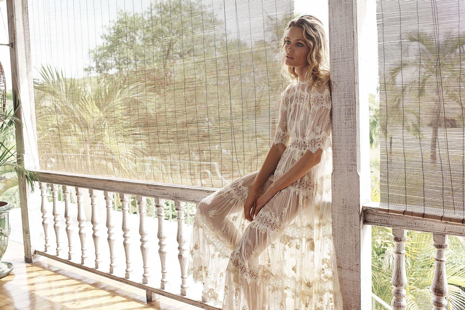 White ruffle apron australia - Tropicale Antique Dress Zimmermann Dress Designer Clothing Summer Wardrobe Australia Swim And Resort