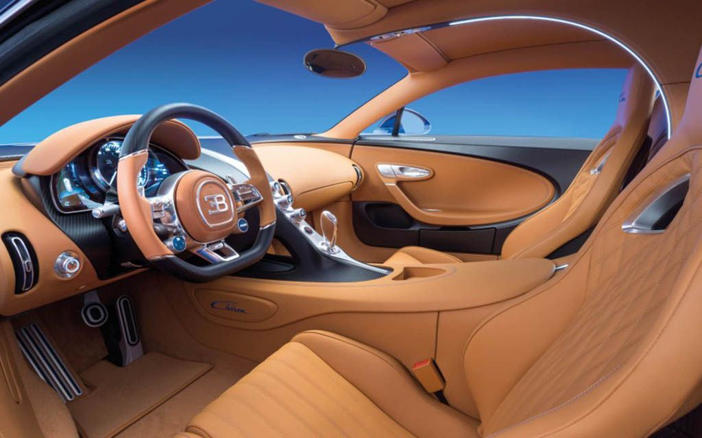 The 5 Most Decadent Car Interiors On Earth Bugatti Chiron Interior Bugatti Cars Bugatti Chiron