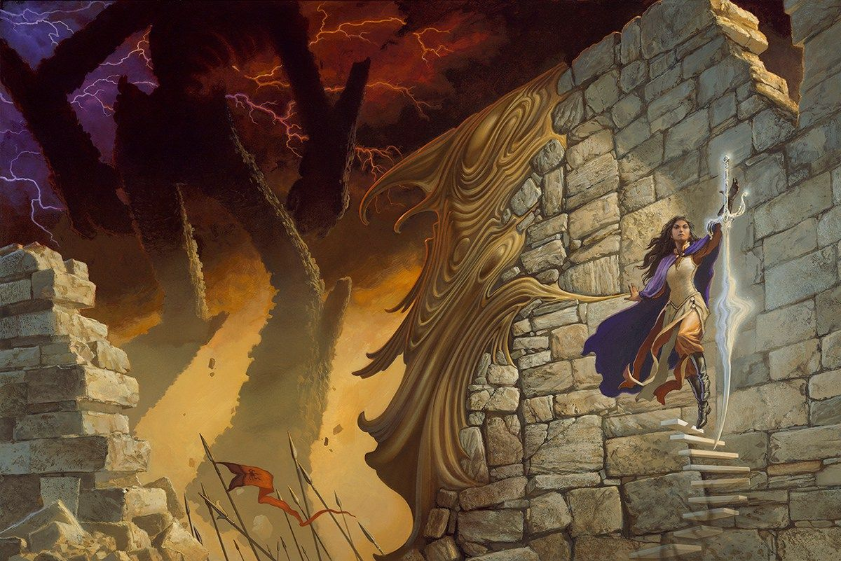 Oathbringer Cover Brandon Sanderson Full Art Tormenta Fantasia Epica Arte