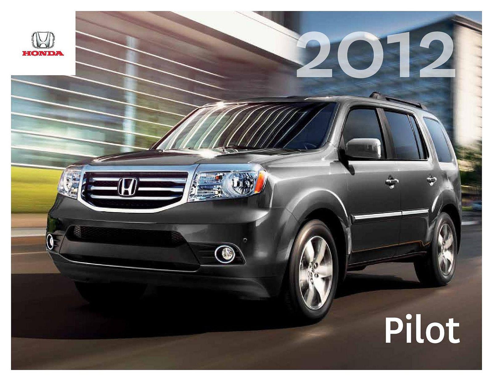Honda Pilot Mk2 Canada Brochure 2012