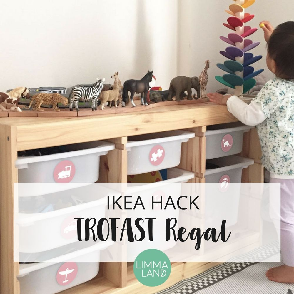 kreative ikea hacks mit der trofast serie f r kinder tolle ideen als spielzeug aufbewahrung. Black Bedroom Furniture Sets. Home Design Ideas
