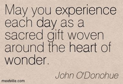 John O Donohue Quote Experience Quotes Quirky Quotes Quotes
