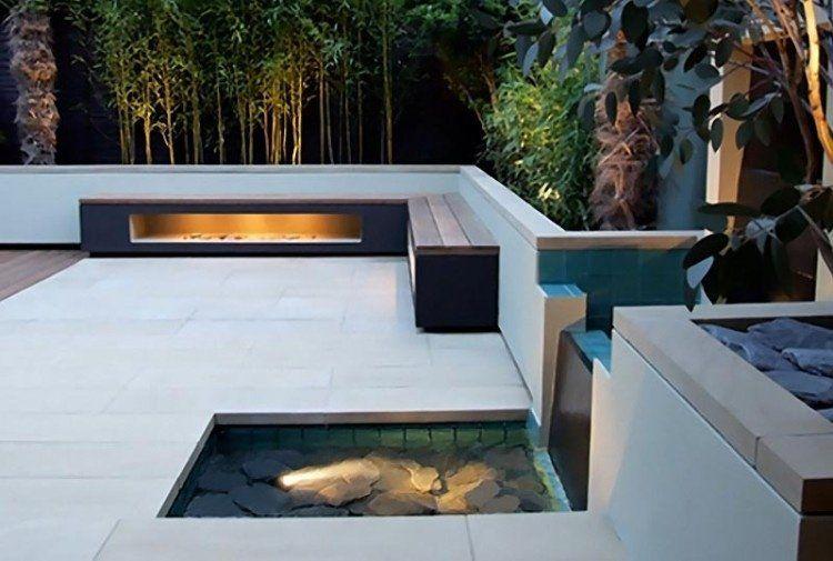 Terrasse et jardin: optez pour le bassin, la fontaine ou l\'étang