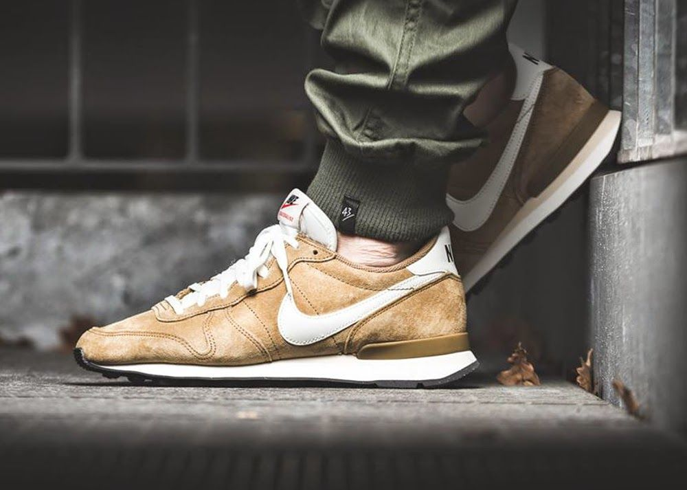 new cheap new release online shop nike internationalist golden tan