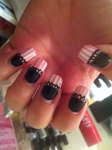 French Maid - Nail Art Gallery by NAILS Magazine