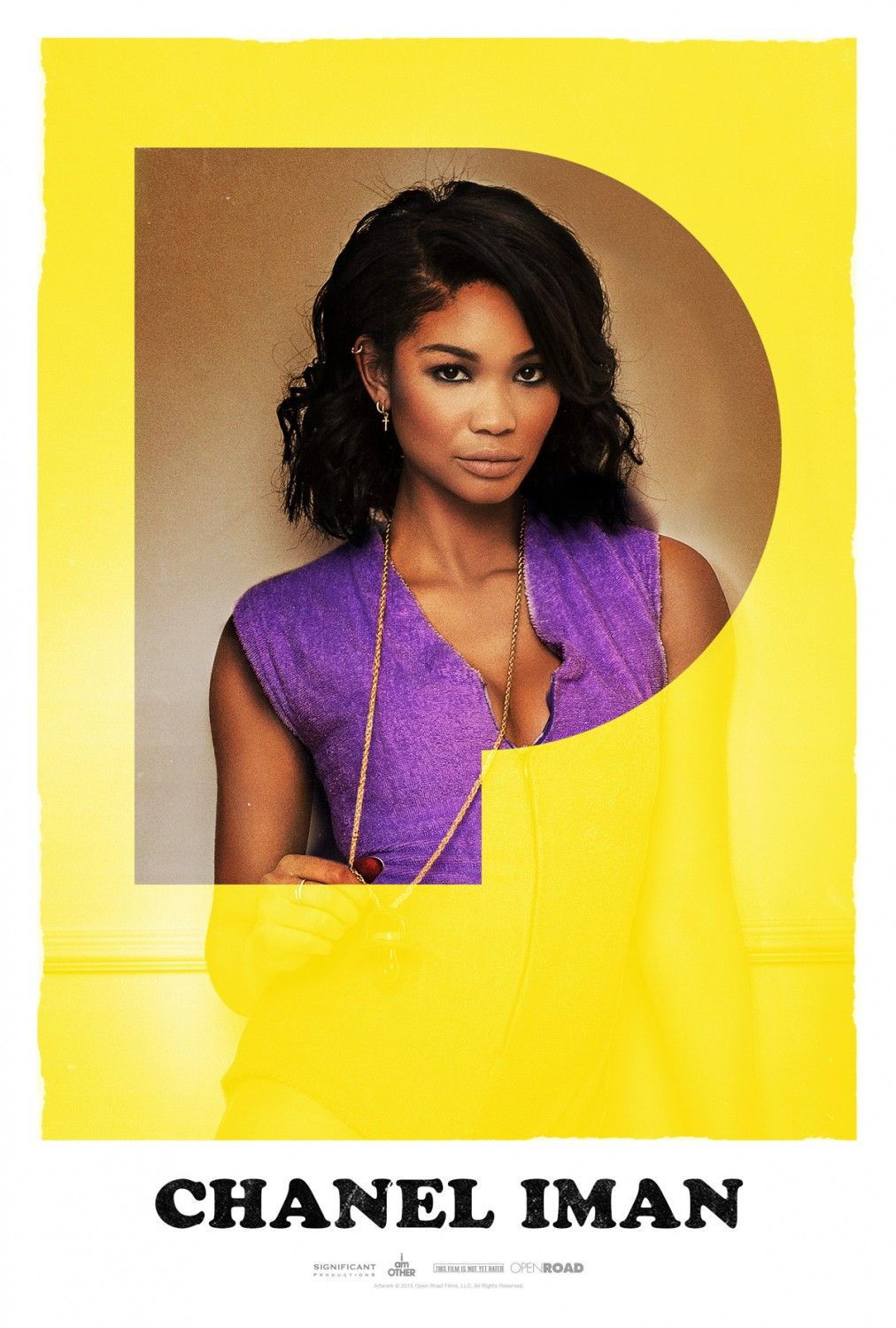 chanel iman poster for the movie dope posters pinterest chanel