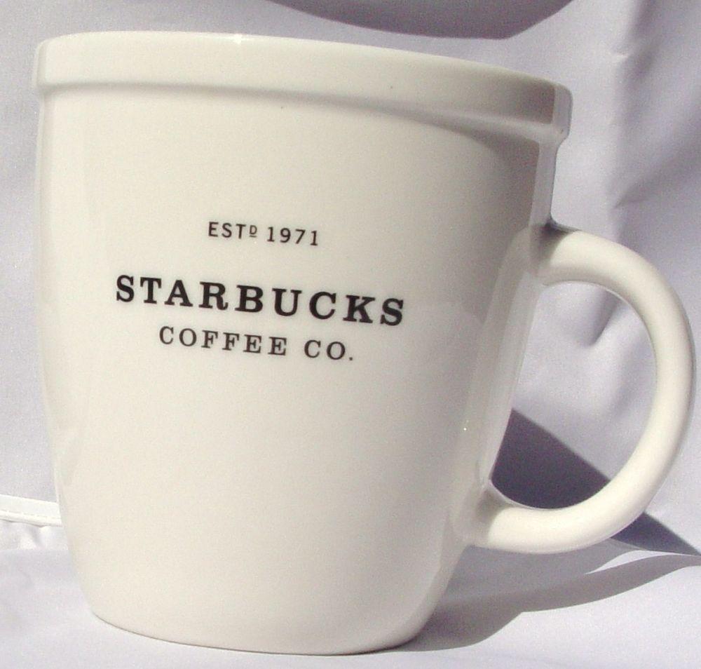 Collectible 2001 Starbucks Est 1971 Barista Coffee Mug Cup