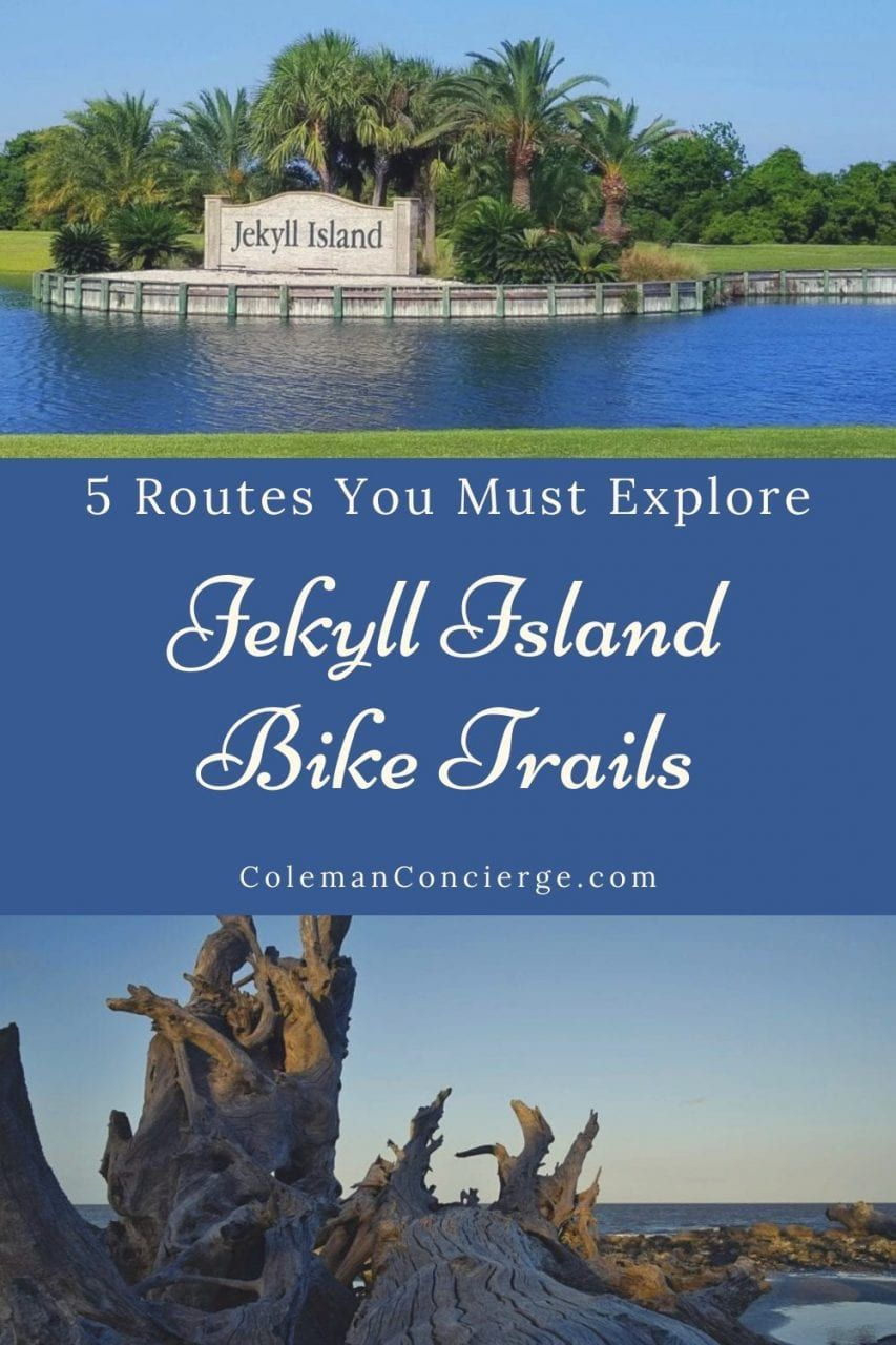 Jekyll island bike trails 5 routes you must explore in