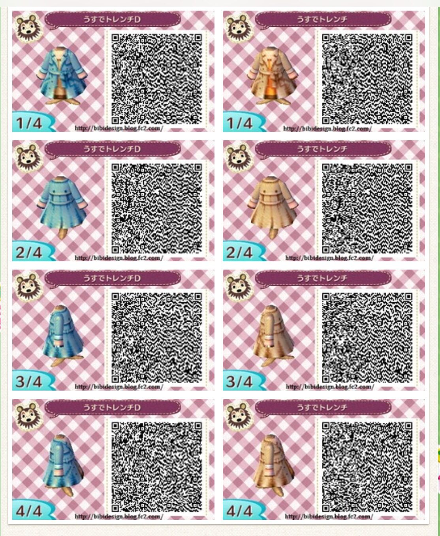 13++ Animal crossing clothes qr ideas