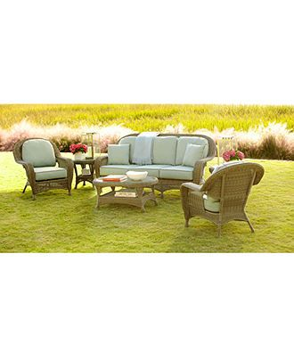 Sandy Cove Outdoor Seating Collection With Sunbrella