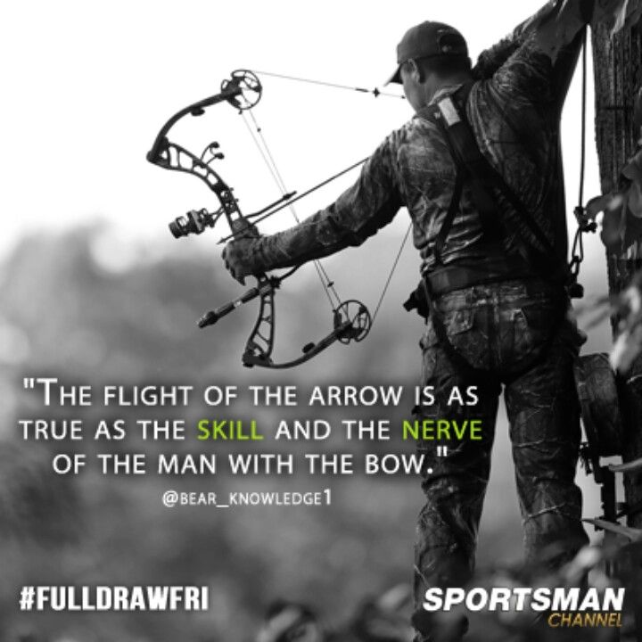 Full draw | Quotes | Archery hunting, Archery, Hunting