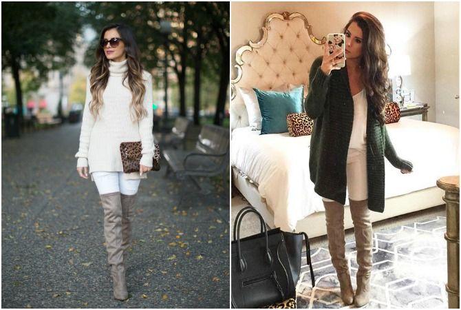 Image Result For Taupe Over The Knee Boots Just My Style