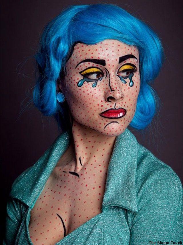 pop art halloween makeup - Pesquisa Google | Make | Pinterest ...