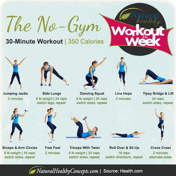 Workout Wednesday: The At-Home Cardio Workout