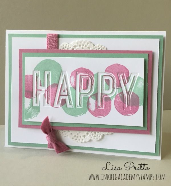 Stampin/'Up HAPPY CELEBRATIONS with matching CELEBRATIONS DUO EMBOSSING FOLDERS