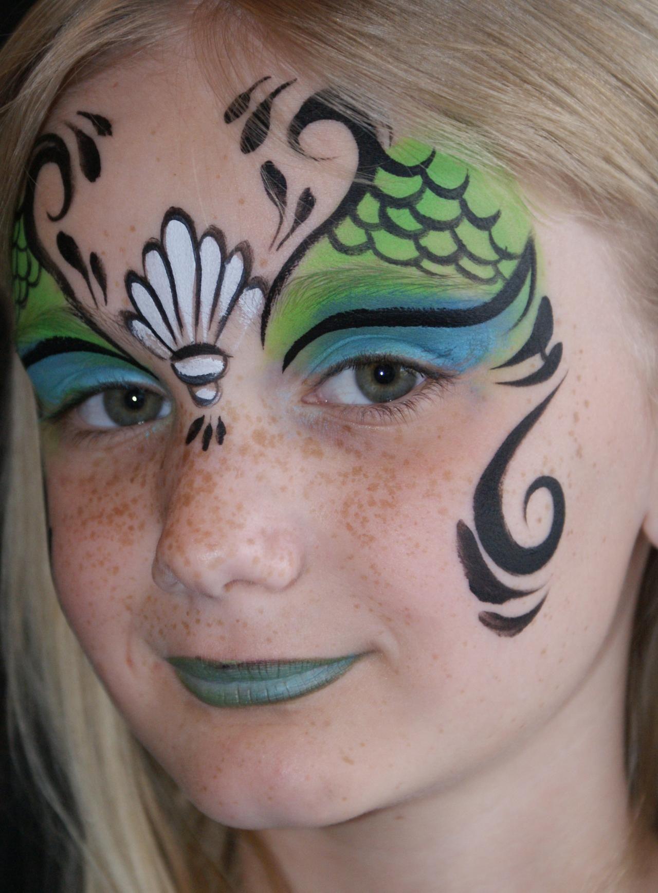 Mermaid_2.143164807_large.JPG (1280×1736)   face painting ...