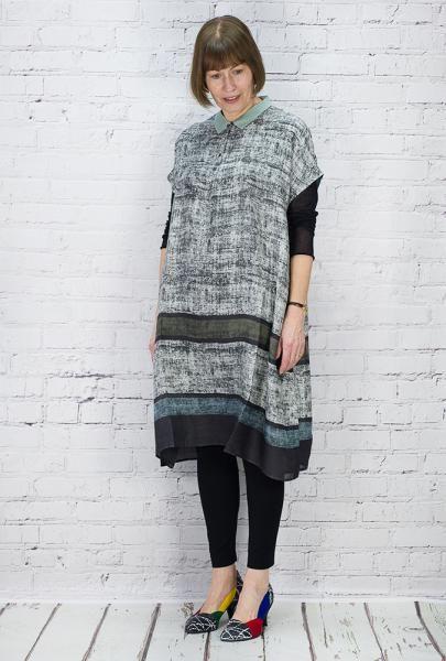 TM Collection Dress Selkie Moss TM160001 (Liquen Back)