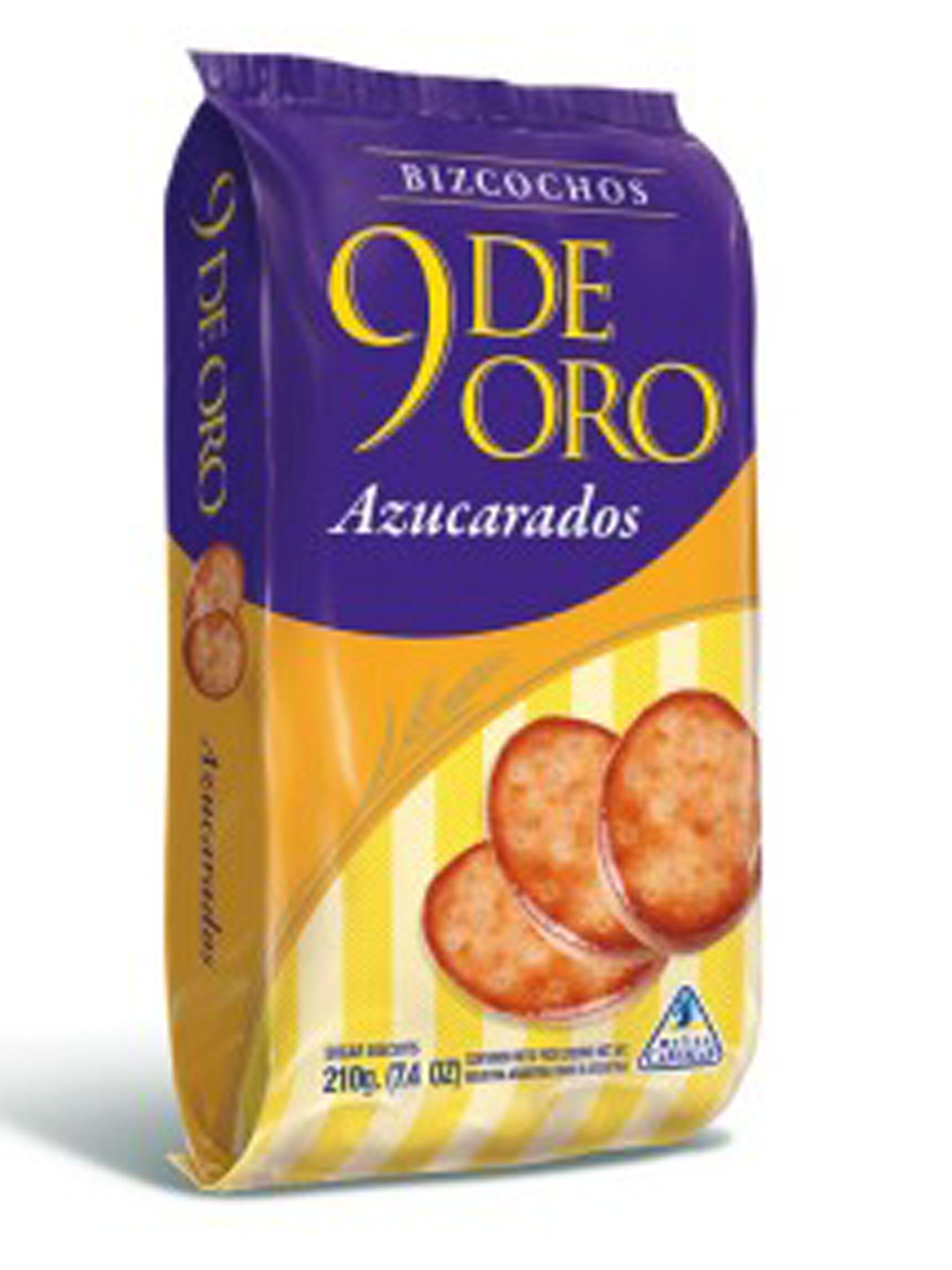 9 De Oro Cookie Oro Tostadas Bizcocho