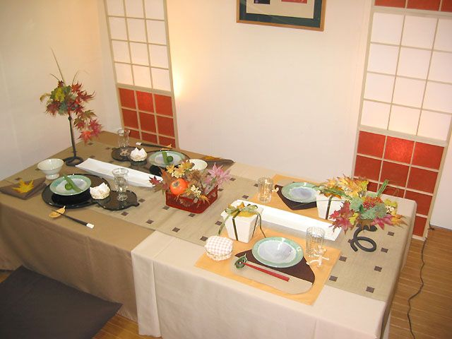 Table setting inspire by Japanese style. & Table setting inspire by Japanese style. | Sushi | Pinterest ...