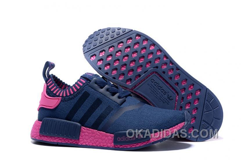 29f845b6f2e5a www.okadidas.com ... ADIDAS NMD RUNNER WOMEN BLUE RED SHOES ONLINE ...