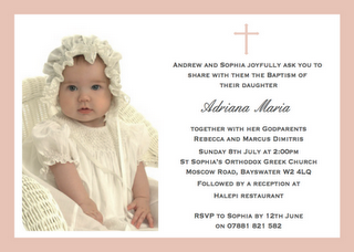 Pin By Marietina On Baptism Ideas Baptism Invitation Wording