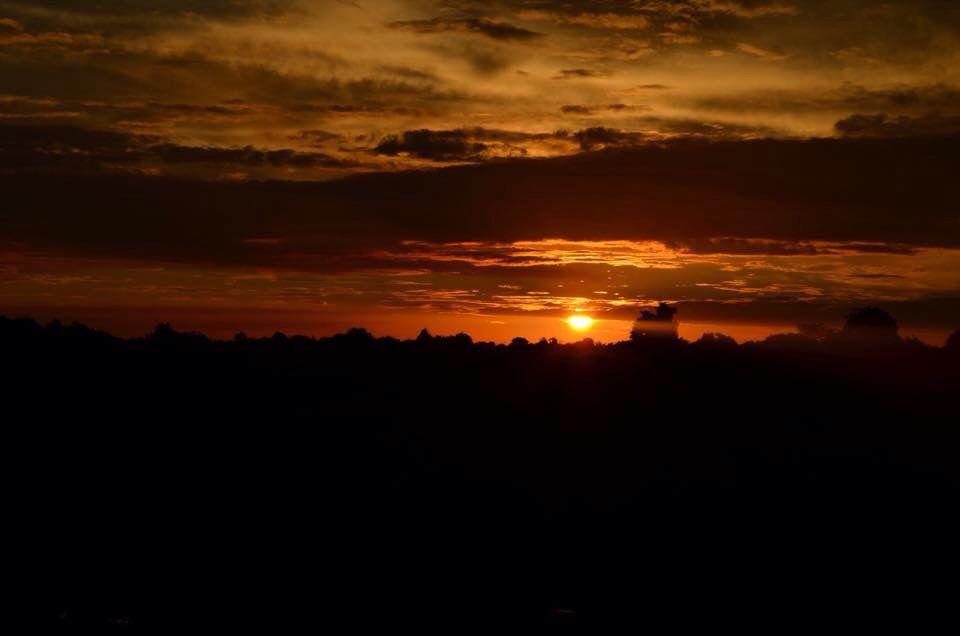 Pôr do sol em Cuiaba (foto por antonio)