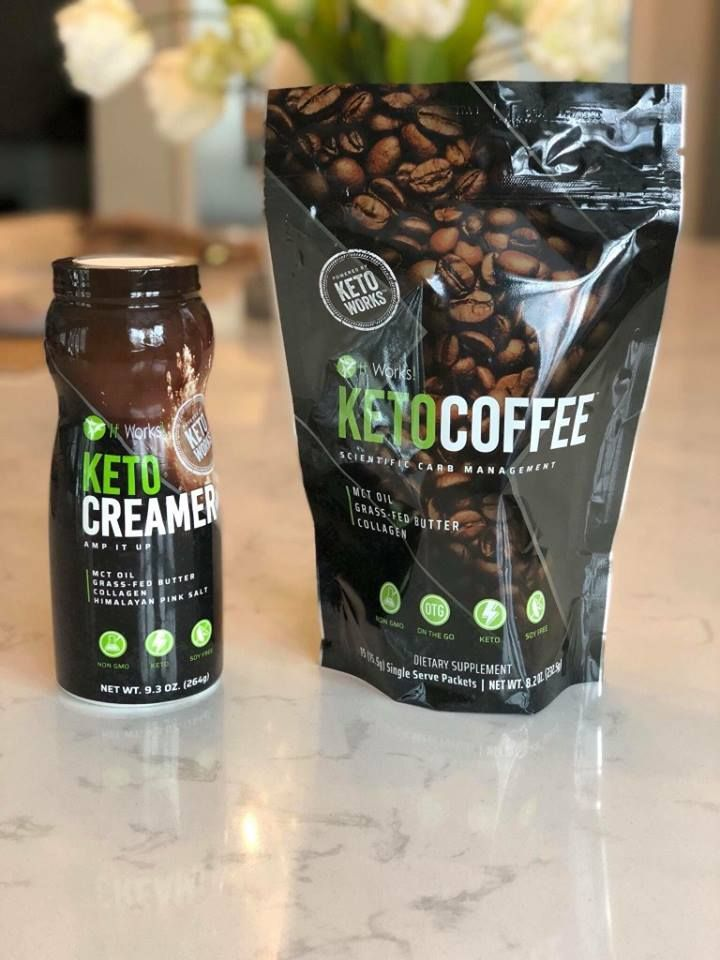 Keto Coffee And Creamer Now In Our KetoWorks Line