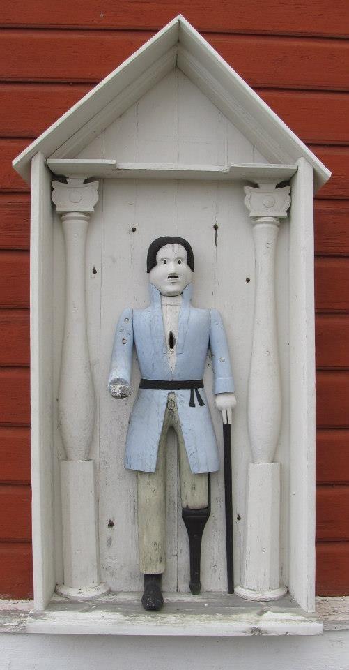 Ukko nro 18, Kortesjärven kirkko Kauhavalla 14.10.2012.  Veistetty v. 1842, mutta tekijästä ei ole tietoa.