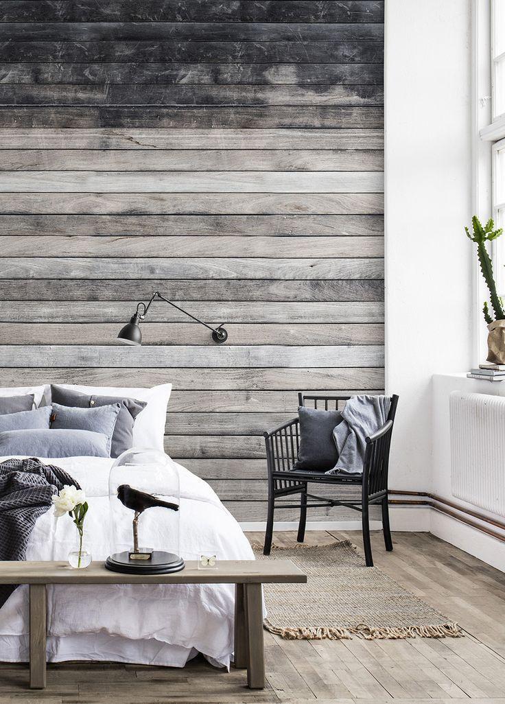 Worn Wood in 2020 Schlafzimmer tapete, Tapeten
