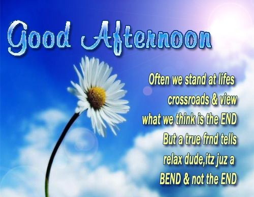 Good Afternoon Quote Afternoon Greetings Pinterest Afternoon Delectable Good Afternoon Quotes