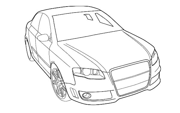 Pin By Bulkcolor On Audi Cars Coloring Pages Cars Coloring Pages Coloring Pages For Kids Coloring Pages