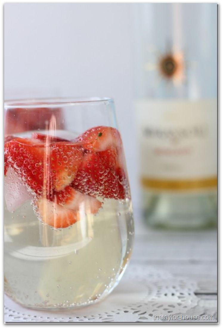 Summer Drinks Recipes Princess Pinky Girl Wine Spritzer Moscato Wine Spritzer Moscato Wine