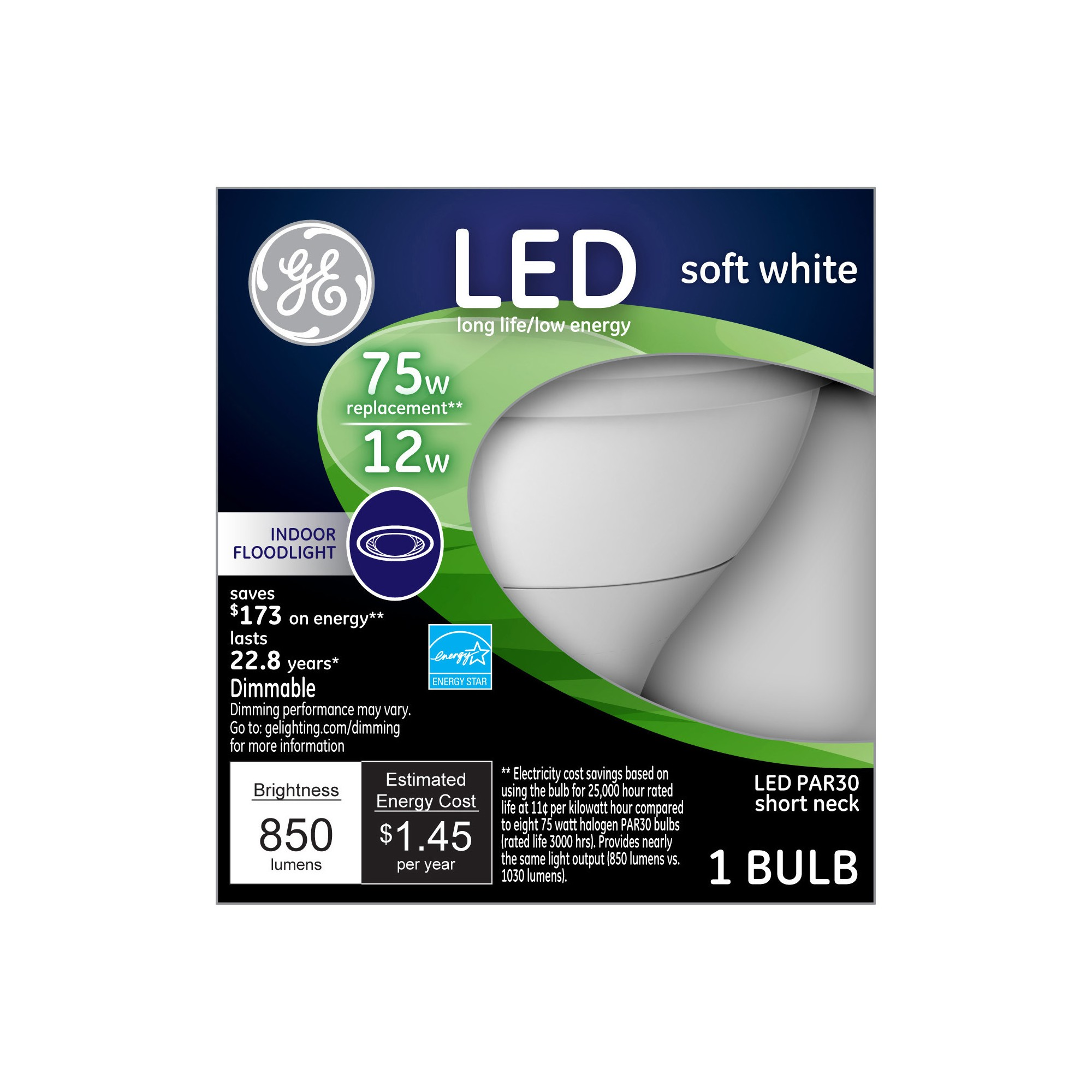 General Electric Led 75w Soft