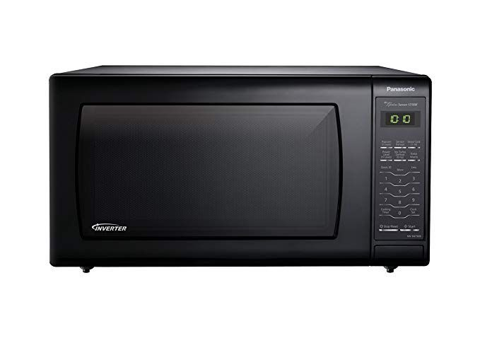 Panasonic Nn Sn736b Black 1 6 Cu Ft Countertop Microwave