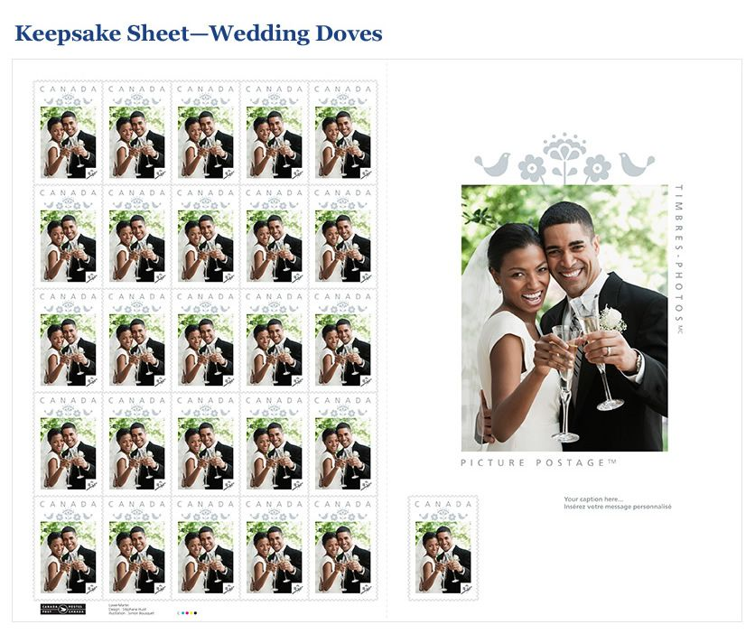 Canada Post Picture Postage Personalized stamps, cards