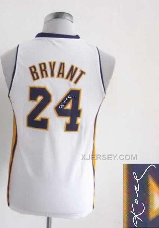 http://www.xjersey.com/lakers-24-bryant-white-signature-edition-women-jerseys.html LAKERS 24 BRYANT WHITE SIGNATURE EDITION WOMEN JERSEYS Only $35.00 , Free Shipping!