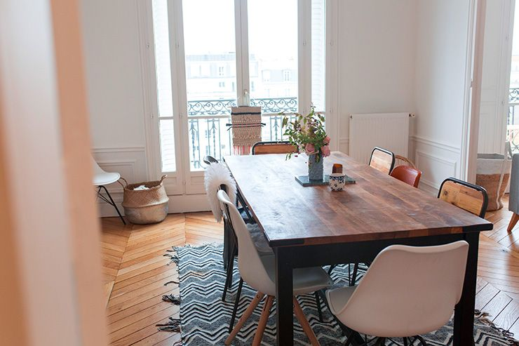 deco-inspiration-salle-a-manger-salon-pinterest-decoration - decoration salle salon maison