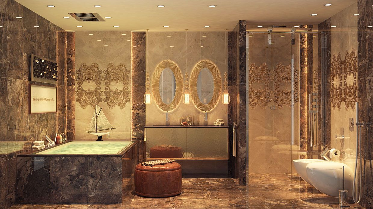 25 Best Bathroom Mirror Ideas For A Small Bathroom  Luxurious Awesome Small Luxury Bathroom Inspiration
