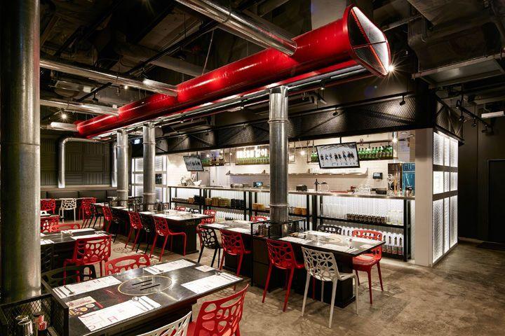 Bbq Restaurant Rotterdam.Food Factory Eateries Lifestyle Ideas Korean Bbq Restaurant